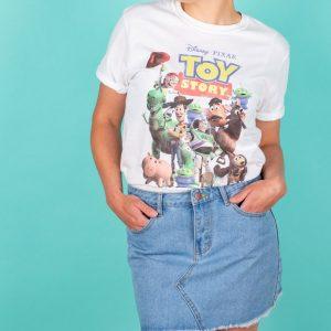 Women's Disney Toy Story Gang White T-Shirt