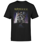 Beetlejuice Distressed Poster T-Shirt – Black – XS – Black