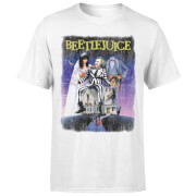 Beetlejuice Distressed Poster T-Shirt – White – XS – White