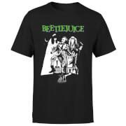 Beetlejuice Mono Poster T-Shirt – Black – XS – Black