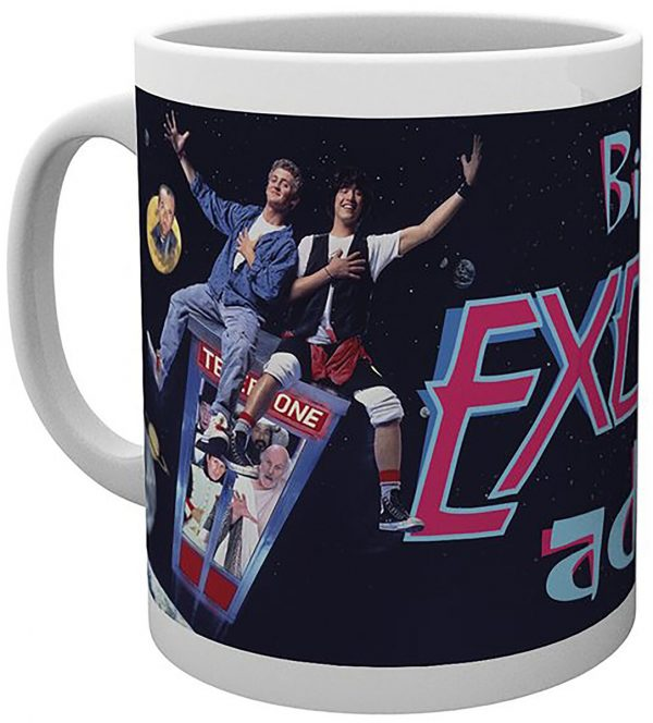 Bill & Ted's Excellent Adventure Cup multicolour
