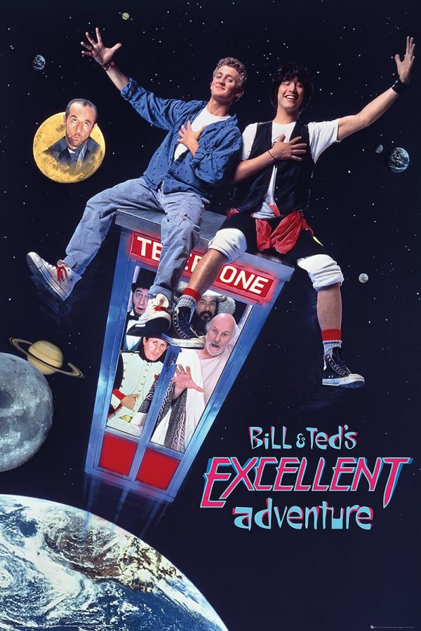Bill & Ted's Excellent Adventure Excellent Adventure Poster multicolour