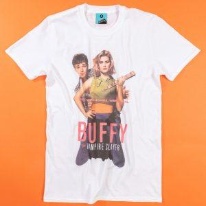 Buffy The Vampire Slayer Movie Poster White T-Shirt