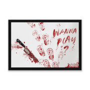 Chucky Wanna Play? Entrance Mat - Zavvi Exclusive