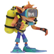 NECA Crash Bandicoot - 7 Action Figure - Deluxe Scuba Crash