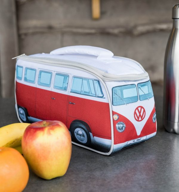 Red VW Camper Van Lunch Bag