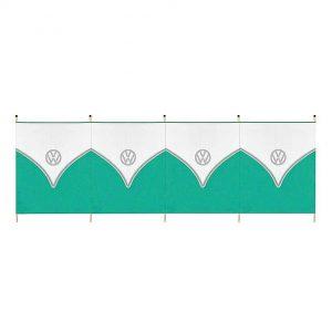 VW 5 Pole Tall Windbreak – Green