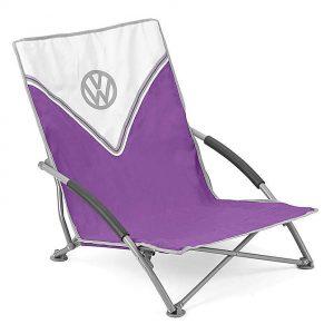 VW Low Folding Chair – Purple