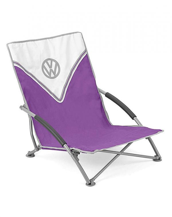VW Low Folding Chair - Purple