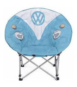 Volkswagen Folding Moon Chair – Dove Blue
