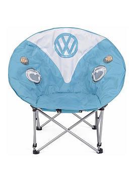 Volkswagen Folding Moon Chair - Dove Blue