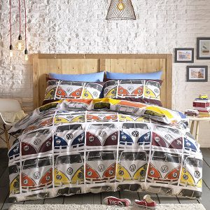 Volkswagen VDub Single Duvet Cover And Pillowcase Set