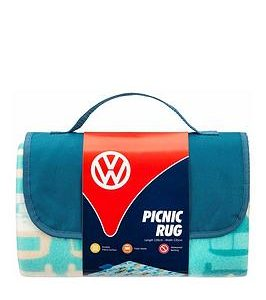 Volkswagen Vw Compervan Family Beach Mat