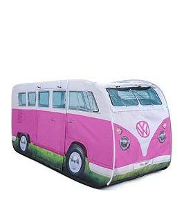 Volkswagen Vw Kids Pop Up Tent Pink