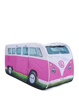 Volkswagen Vw Kids Pop Up Tent Pink