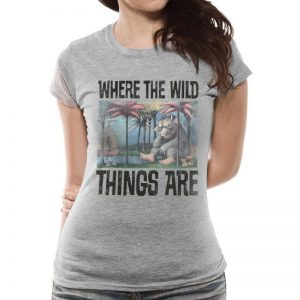 Where The Wild Things Are – Book Cover Fitted T-shirt