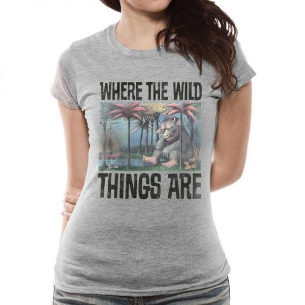 Where The Wild Things Are - Book Cover Fitted T-shirt