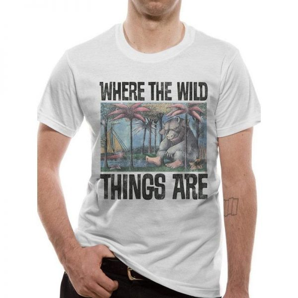 Where The Wild Things Are - Book Cover T-shirt