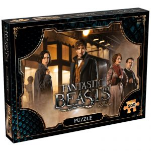 500 Piece Jigsaw Puzzle – Fantastic Beasts Field Edition