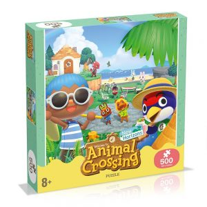 Animal Crossing 500-Piece Puzzle Gift Set By Moonpig – Delivery Available