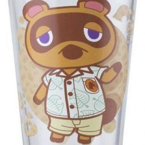Animal Crossing Animal Crossing Drinking Glass Multicolour