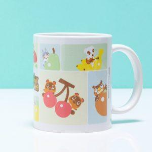 Animal Crossing Characters Grid Mug