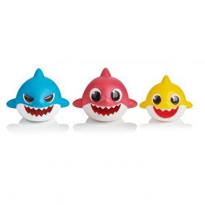 Baby Shark Bath Toy – 3 Pack