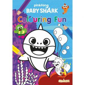 Baby Shark: Colouring Fun