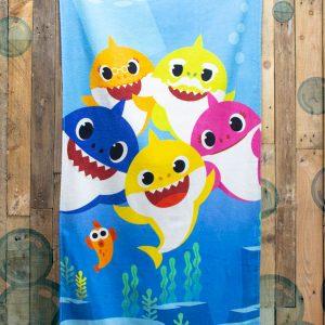 Baby Shark Underwater Beach Towel