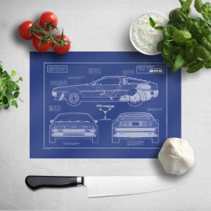 Back To The Future Chopping Board