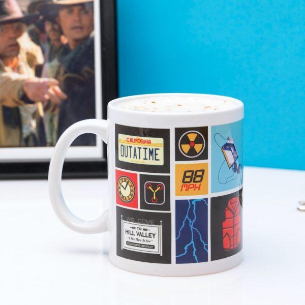 Back To The Future Collage Mug