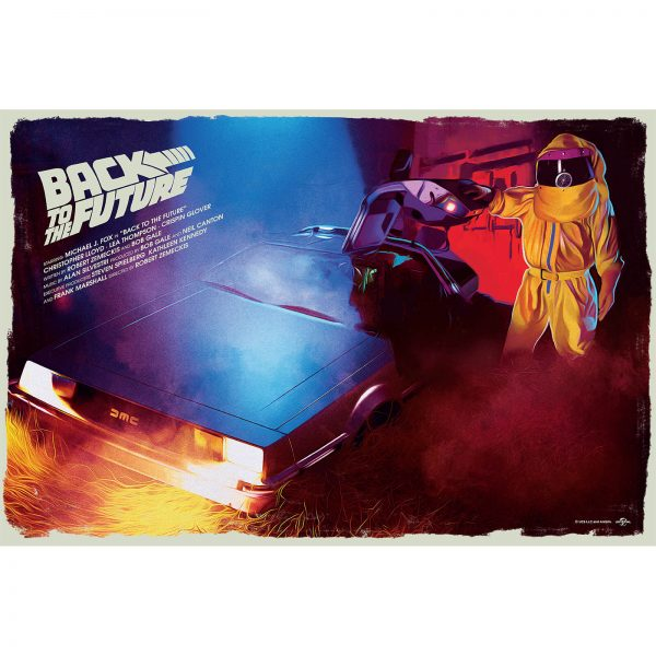 Back To The Future Giclee Print by Caroline Vermeir
