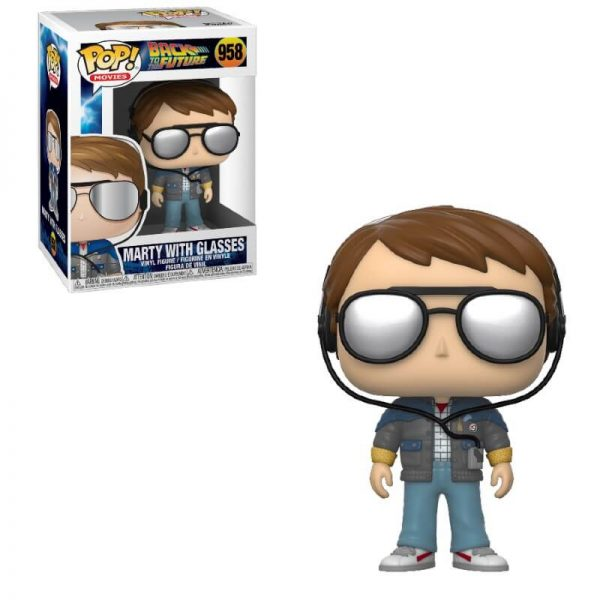 Back to the Future Marty with Glasses Pop! Vinyl Figure