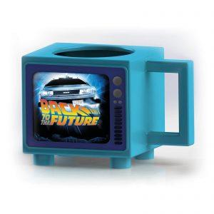 Back To The Future Retro TV Heat Changing Mug