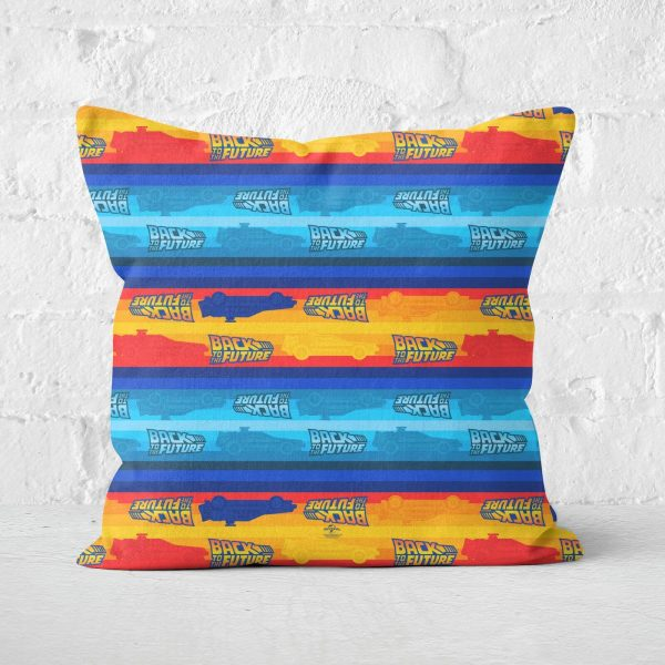 Back to the Future Square Cushion - 50x50cm - Soft Touch