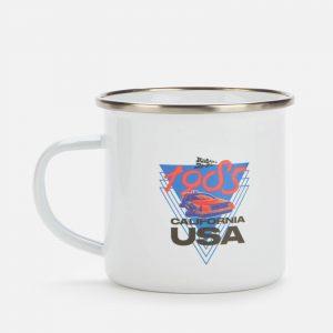 Back To The Future Enamel Mug – White