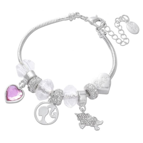 Barbie Beaded Charm Bracelet