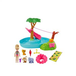 Barbie Birthday Surprise Chelsea Jungle River Play Set