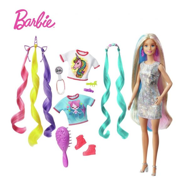 Barbie Fantasy Hair Blonde Barbie Doll