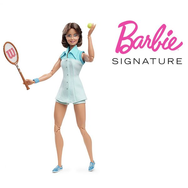 Barbie Inspiring Women Billie Jean King Collectible Doll