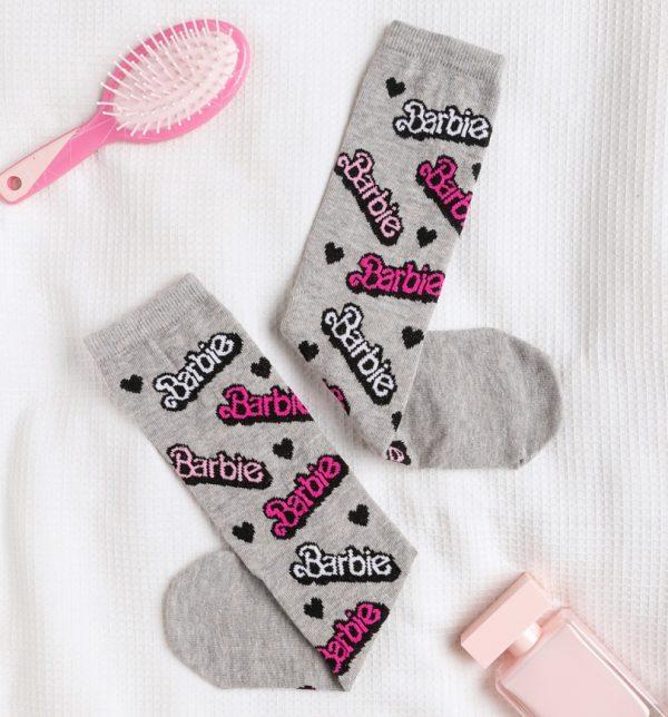 Barbie Logo Socks