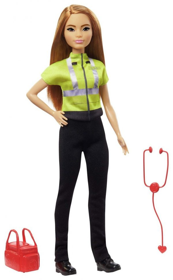 Barbie Paramedic Doll with Toy Accessories