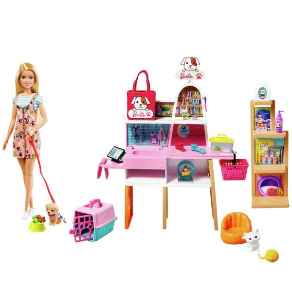 Barbie Pet Boutique Playset and Doll