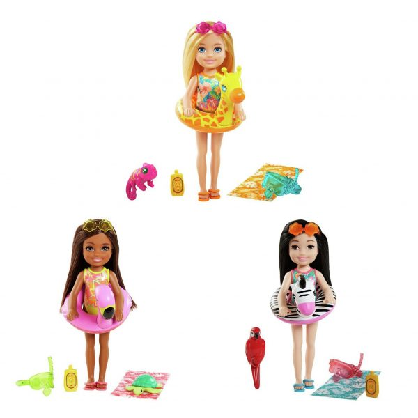 Barbie and Chelsea The Lost Birthday Doll & Pet Assortment