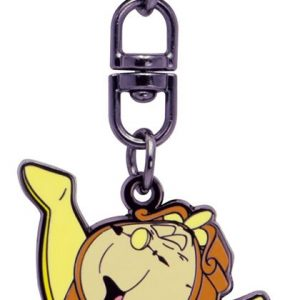 Beauty And The Beast Cogsworth Keyring Pendant Multicolour