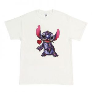 Beauty And The Beast Stitch Crashes Disney's Customisable T-Shirt 1 Of 12, Mens, White – From ShopDisney's