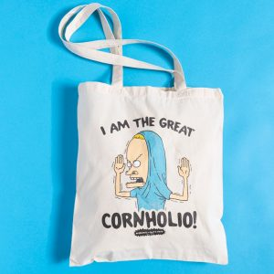 Beavis And Butt-Head Cornholio Tote Bag
