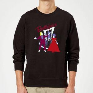 Beetlejuice Beetlejuice Sweatshirt – Black – 5XL – Black