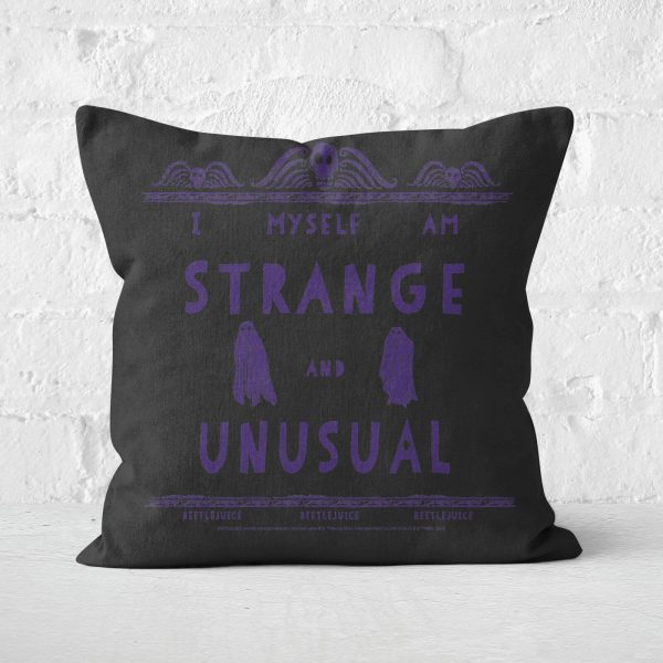 Beetlejuice Cushion Square Cushion - 50x50cm - Soft Touch