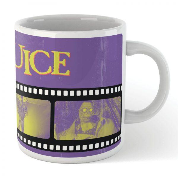 Beetlejuice Film Reel Mug